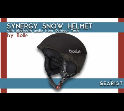 Bollé Synergy Snow Helmet with Bluetooth Audio Review