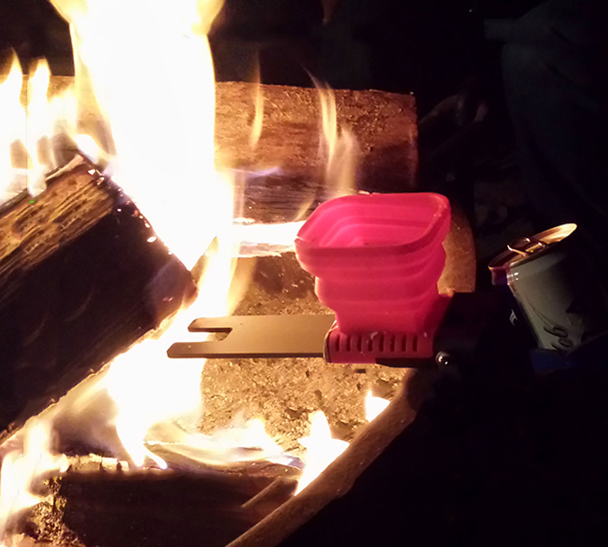 FlameStower over fire