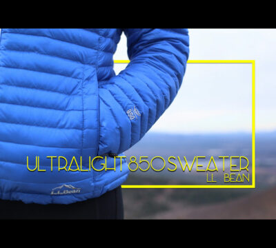 L.L.Bean Ultralight 850 Down Sweater Review