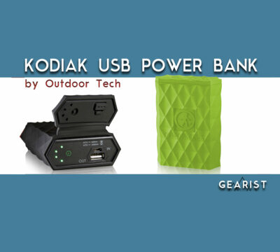 Outdoor Tech Kodiak 6000mAh USB Power Bank Review